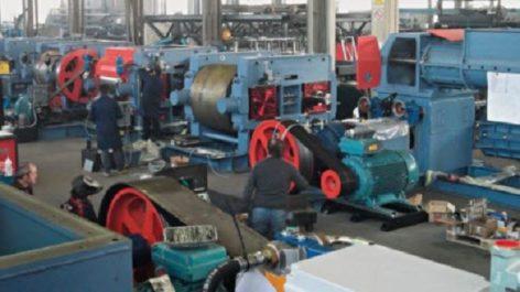 Industries mécanique et textiles : Premier jalon de la diversification de l'économie