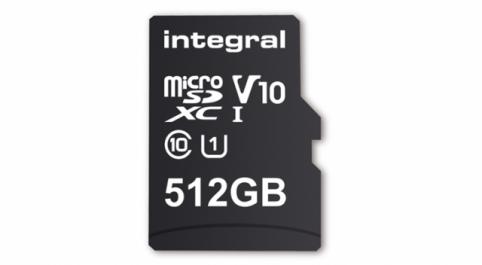 Une première carte micro SD de 521 Go, un nouveau record de stockage