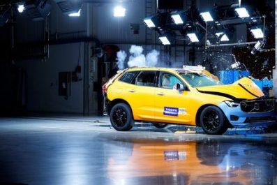 Volvo Cars : Le Volvo XC60 est le véhicule le plus sûr testé en 2017 par Euro NCAP