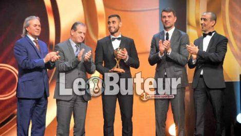 Ghoulam, meilleur joueur algérien 2017