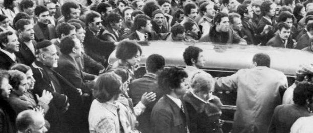 Marseille : plaque commémorative de l'attentat de 1973 contre le Consulat d'Algérie