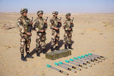 """Algérie : Des roquettes """"S-5KO"""", antipersonnel et anti-engins, découvertes au Sud"""