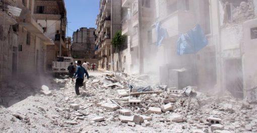 Quinze civils tués dans des bombardements près de Damas