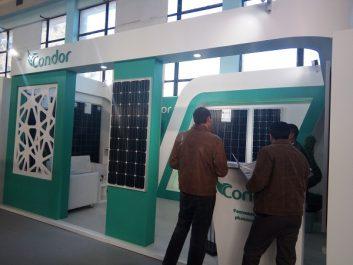 Salon FCE Transition Énergétique: « Condor Electronics » présente les nouvelles technologies des panneaux photovoltaïques