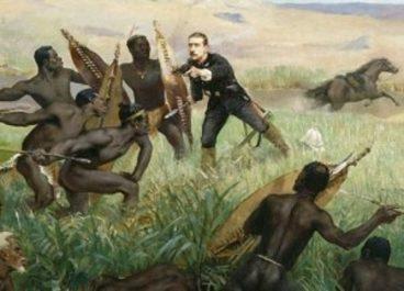 Cela s'est passé un 22 janvier 1879, les zoulous infligent leur plus grande défaite aux anglais, en Afrique