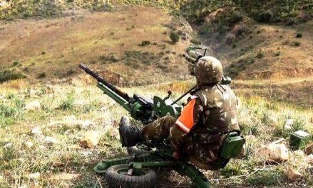 Six casemates pour terroristes contenant une quantité de produits explosifs détruites à Batna (MDN)