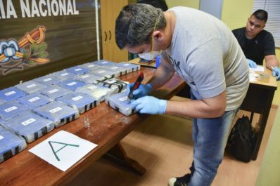 Argentine : 400 kilos de cocaïne dans l'ambassade de Russie