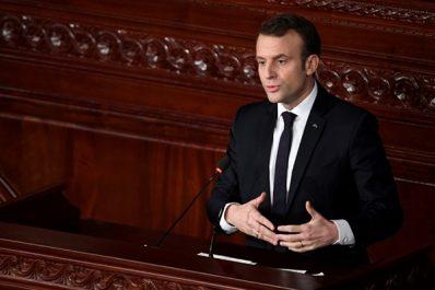 Macron depuis Tunis: «Le printemps Arabe n'est pas terminé»