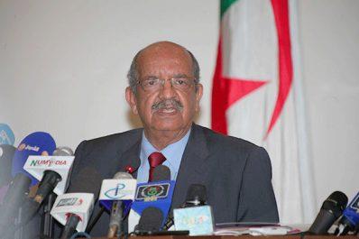 Messahel reçu par le président du Conseil de la République de l'Assemblée nationale de Biélorussie