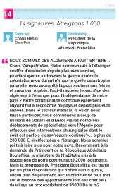 Les algériens résidant à l'étranger lancent une pétition revendiquant leur droit au logement