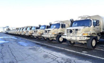 Industrie militaire: livraison de 771 véhicules multifonctions de marque Mercedes Benz