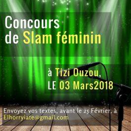 Women's Poetry DZ: Deuxième concours de slam 100% féminin à Tizi Ouzou