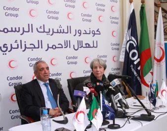 « Condor Group» partenaire officiel du croissant rouge algérien