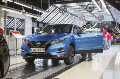 Nissan Motor Corporation : 3 millions de Nissan Qashqai produits au Royaume-Uni