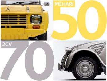 Rétromobile 2018 : Citroën fête les 70 ans de la 2CV et les 50 ans de la Méhari