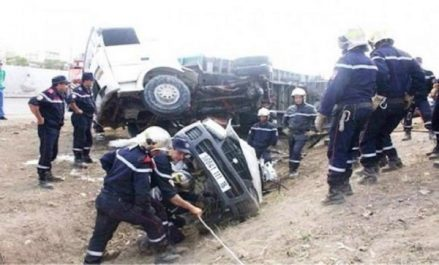 Accidents de la circulation: 3 morts et 7 blessés en 24 heures