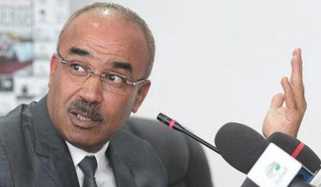 Bedoui reçoit l'ambassadeur du Maroc en Algérie