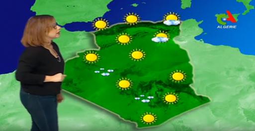 Vidéo- Les prévisions météo de jeudi 15 février en Algérie