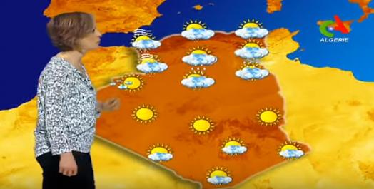Vidéo- Les prévisions météo de lundi 19 février en Algérie