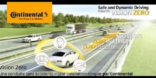 RS EXPO'18 : Continental présentera sa «Vision Zero»