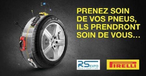 DMAA : Pirelli partenaire du salon RS Expo'18