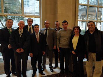 Une cérémonie a été organisée  par le conseil des affaires mondiales en l'honneur de l'Algérie à Dallas