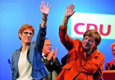 ALLEMAGNE : Angela Merkel prépare sa succession