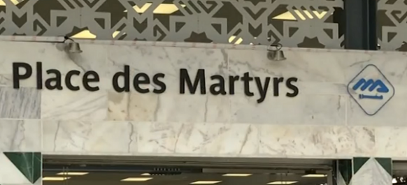 Les travaux de la station de métro à la Place des martyrs d'Alger finalisés : toute une histoire à découvrir