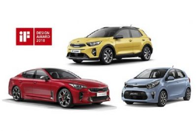 Kia Motors Corporation : 3 IF Design pour Kia