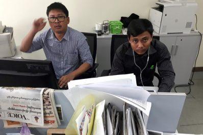 Deux reporters de Reuters arrêtés en Birmanie