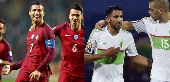 Equipe Nationale A : Portugal- Algérie en amical le 7 juin prochain