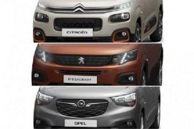 Groupe PSA : Premier aperçu des nouveaux Citroën Berlingo, Peugeot Partner et Opel Combo