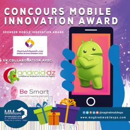 CONCOURS : Gagnez 100 000 DA avec le concours Mobile Innovation Award 2018 !