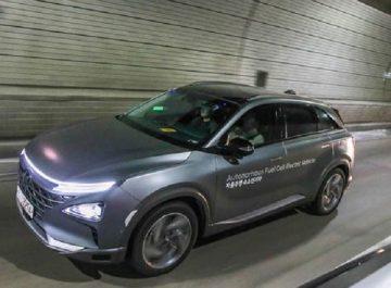 Conduite autonome : Hyundai présente un véhicule électrique hydrogène autonome