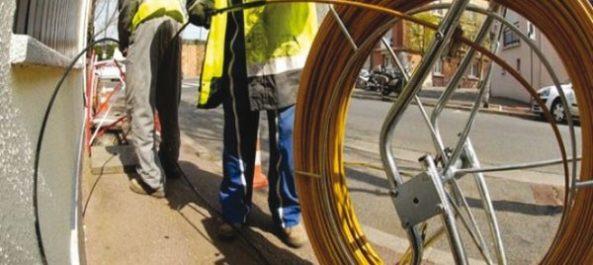 Installation de plus de 400.000 nouvelles lignes en fibre optique en 2017