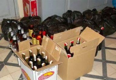 Tébessa : Saisie de 11.000 unités de boissons alcoolisées et des psychotropes