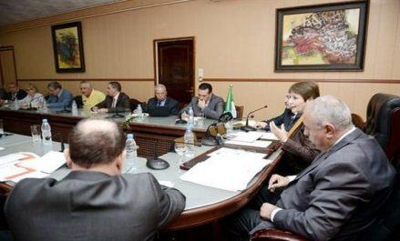 Benghabrit se réunit avec les représentants de l'intersyndical du secteur