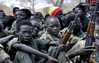Plus de 5000 enfants soldats libérés en 2017, des dizaines de milliers toujours recrutés (ONU)