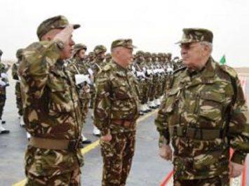Gaïd Salah inspecte des unités du Secteur opérationnel d'In Amenas