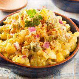 Salade de pommes de terre aux épice