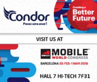 Le premier Salon Maghreb Mobile  : « Condor» présente ses offres et nouveautés