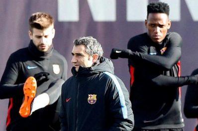 Barça : Yerry Mina aligné pour la première fois face à Valence ?