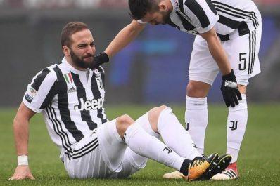 La Juventus perd deux joueurs face au Torino