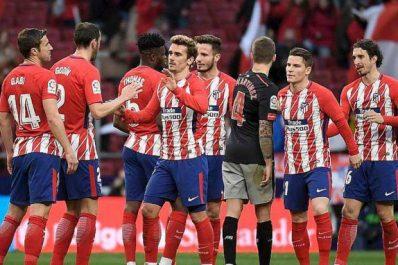 L'Atlético ne perd pas de terrain sur le Barça