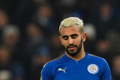 Leicester : Mahrez ne jouera pas face à Man City selon la presse anglaise