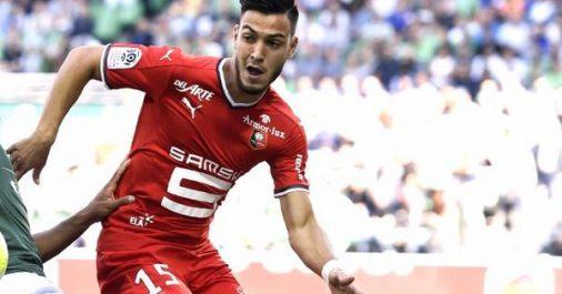 Ligue 1 (France) : Bensebaini et Rennes s'imposent face à Lyon