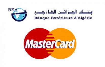 La Banque extérieure d'Algérie se lance dans la commercialisation de la Master Card