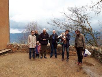 L'Ambassadeur de France en Algérie se rend au monastère de Tibhirine