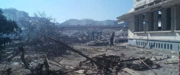 Poursuite de l'opération de démolition des bâtisses menaçant ruine dans les alentours des Abattoirs à Ruisseau