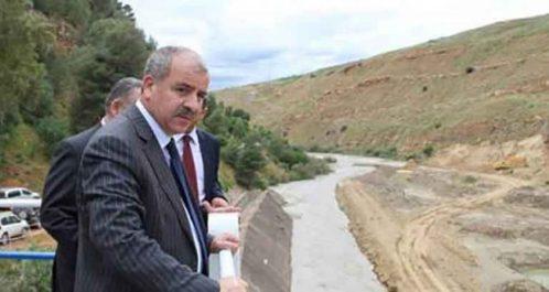 Laghouat : Necib met en exploitation le barrage de Seklafa